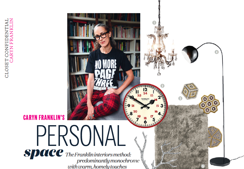 Caryn Franklin in NO to page three campaign T
