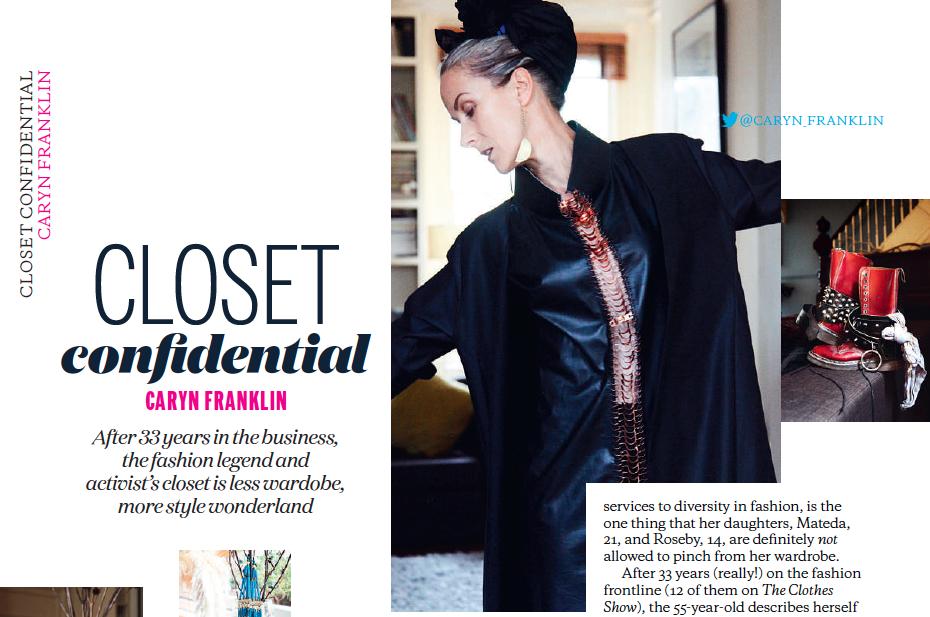Elle Magazine: Closet Confidential