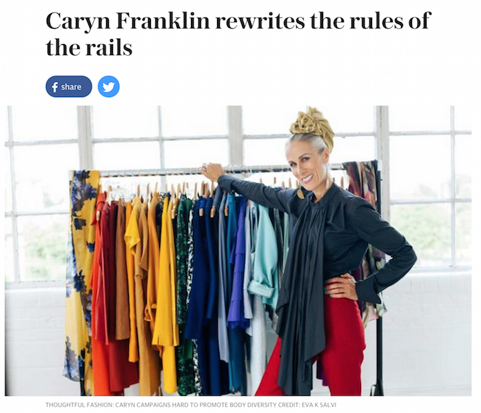 Caryn Franklin Telegraph Press