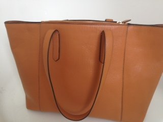 Jaeger leather bag