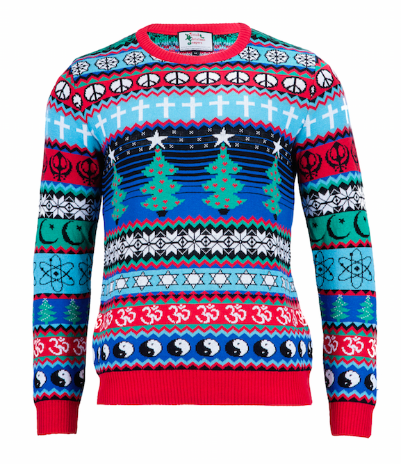 Made in Britain Multicultural Christmas Jumper