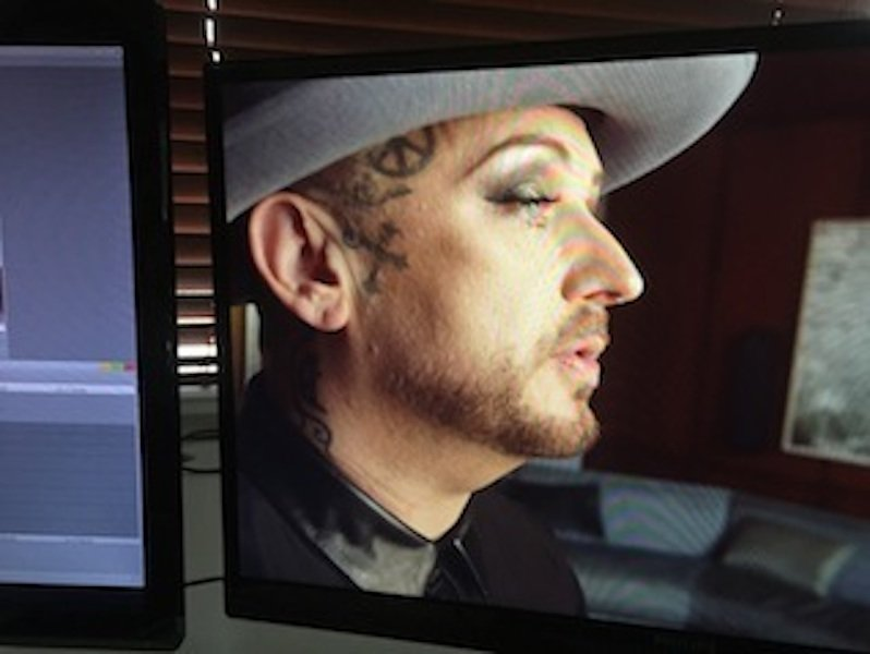 "Boy George an excellent ""Communicator of Possibility."""