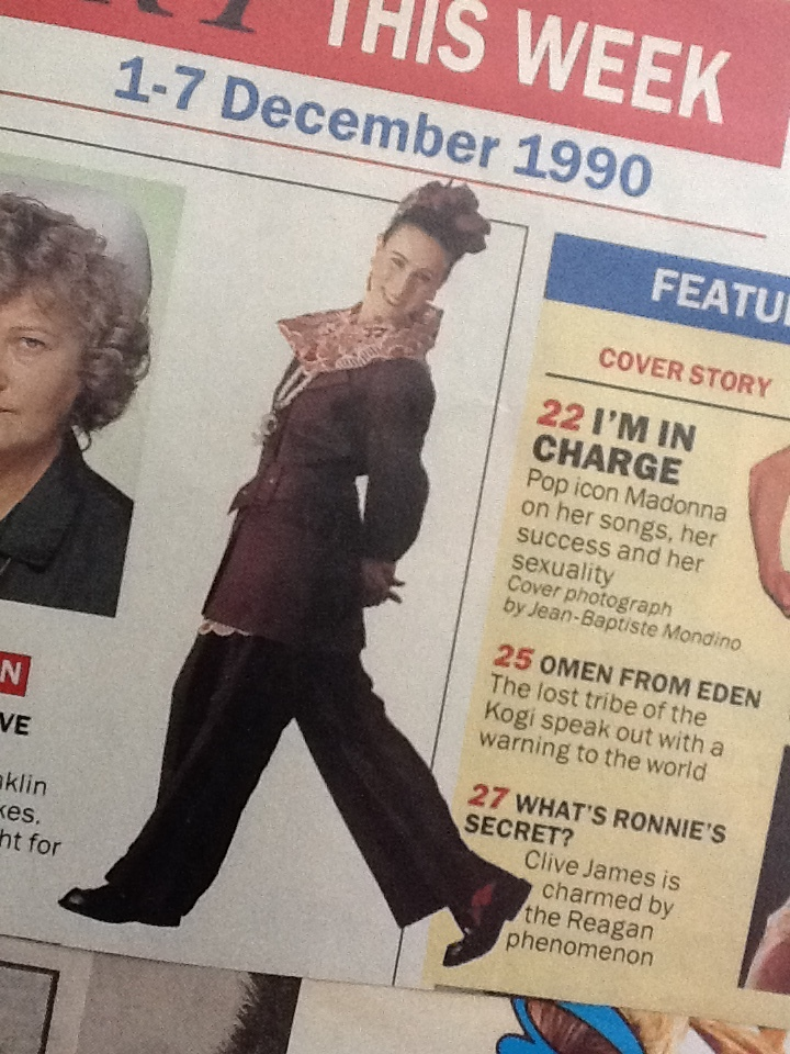 Radio Times liked a bit of fashion chat.