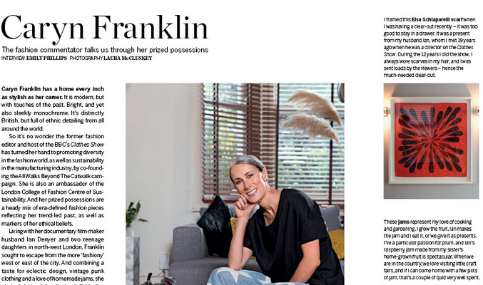 Caryn Franklin Psychologies Magazine
