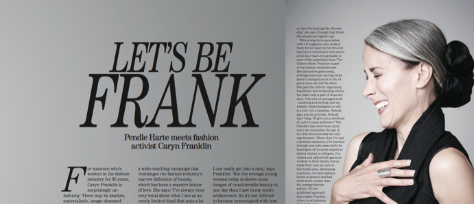 Caryn Franklin Magazine Feature Absolutely Notting Hill