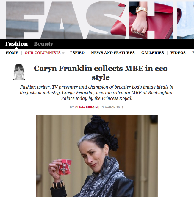 Press-Telegraph-Franklin-collects-her MBE-in-style